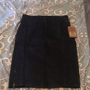 True Religion dark denim skirt